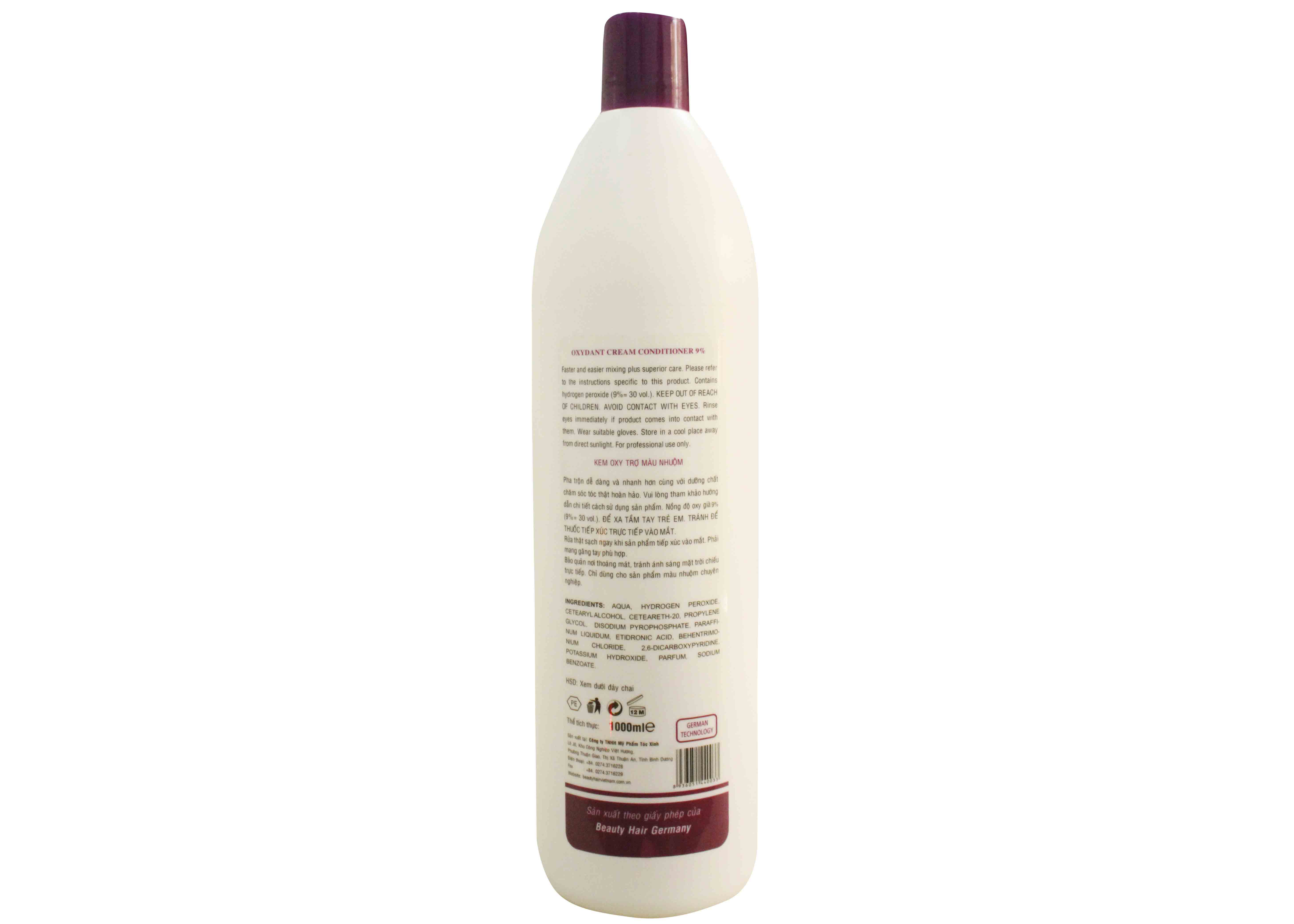 Oxydant Cream Conditioner 9%